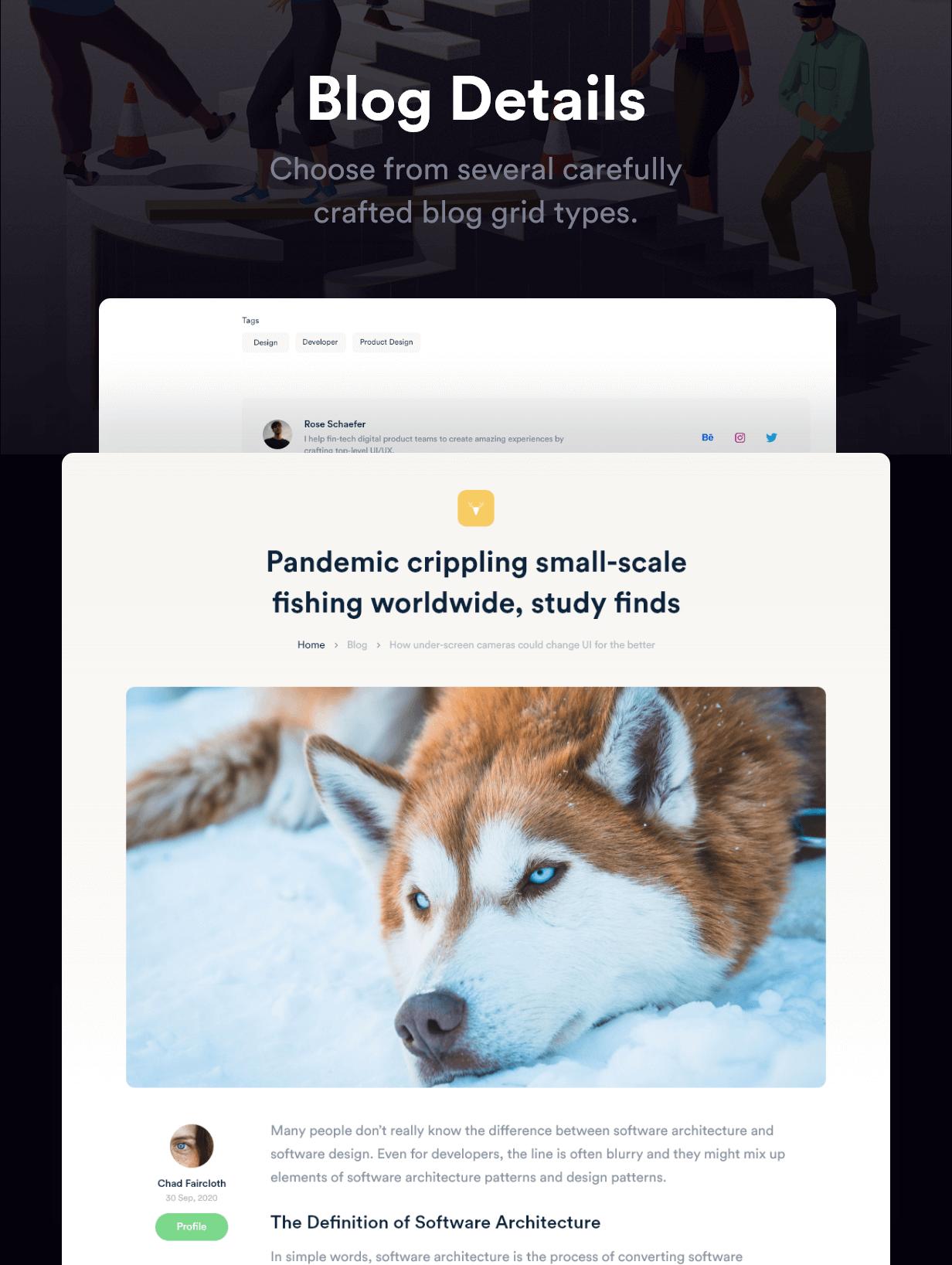 Rakon - Creative Multi-Purpose Landing Page HTML5 Template (RTL Supported) - 10